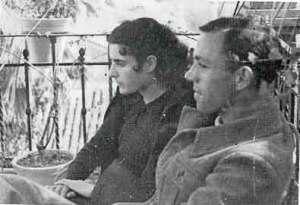 Josefina Manresa y Miguel Hernandez