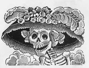 La catrina de Guadalupe Posada