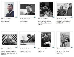 Galería de fotos de Yuri Gagarin