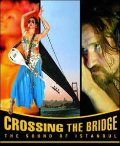 "Cartel de ""Crossing the bridge"""