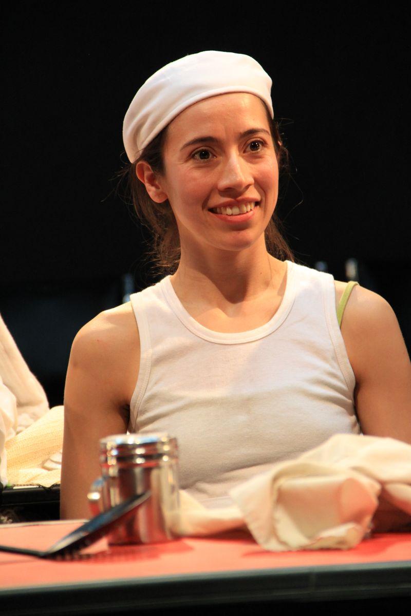 Patricia Ortiz, actriz de El Dragón Dorado